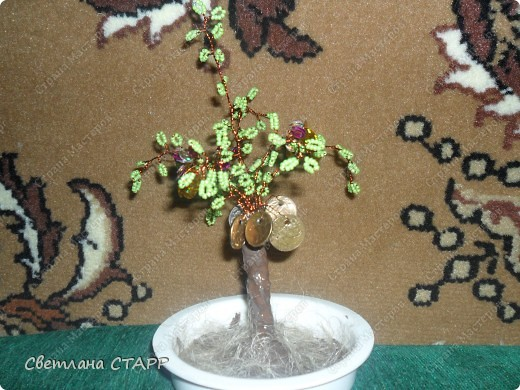 Сделала ещё одно денежное деревце фото 2