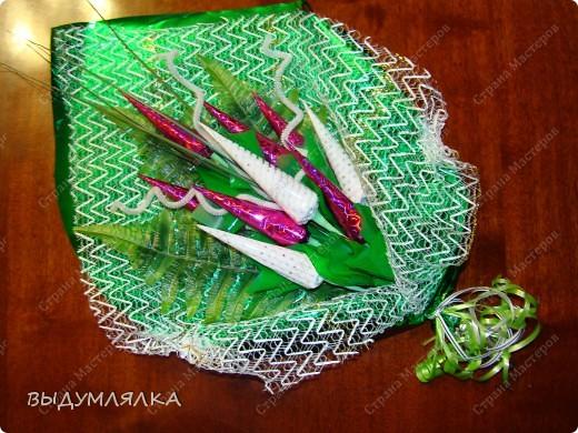 Мои пробы в конфетно-цветочном деле. фото 1