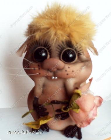 вот такой получился хомяк. Я назвала его Арбузик. У меня живёт живой хомячок Арбузик. Вот имя дала в честь него :)