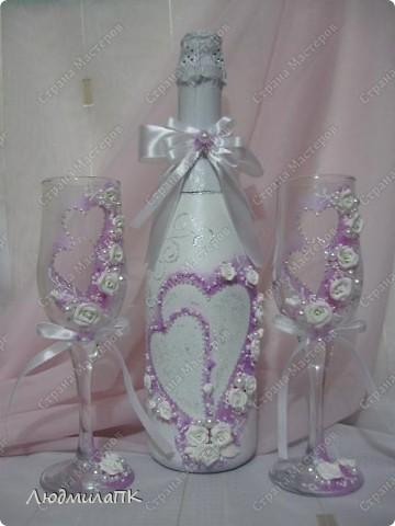 Очередной свадебный набор... фото 2