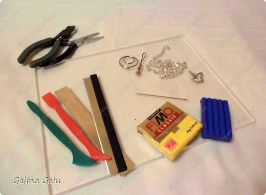 Полимерной глиной увлекаюсь недавно, так что не судите строго :-)  Я собираюсь показать как я умею вязать из пластики... фото 2