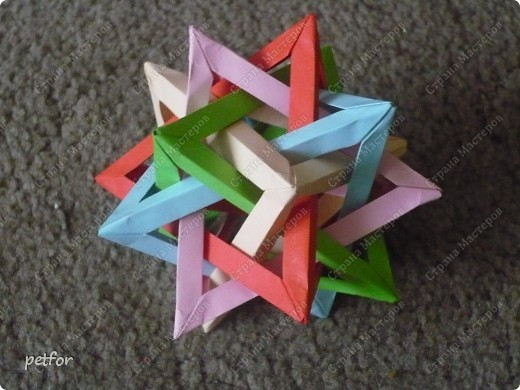 Five Intersecting Tetrahedra  фото 2