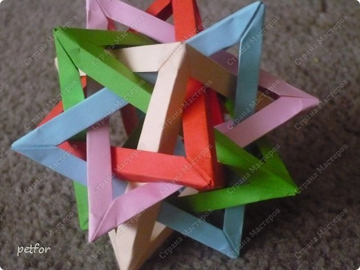 Five Intersecting Tetrahedra  фото 1