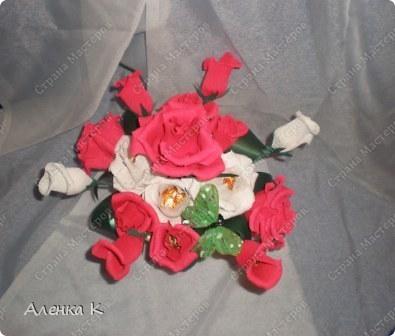 """Конфетный Букет """"Розы"""" фото 2"""