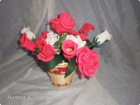 """Конфетный Букет """"Розы"""" фото 1"""