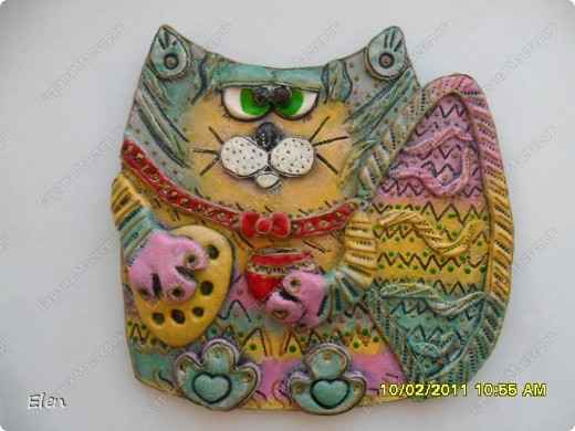 кошка гипсовая фото 3