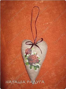 Скоро Валентинов день! Вот такой цветочек из сердечек- валентинок. фото 10