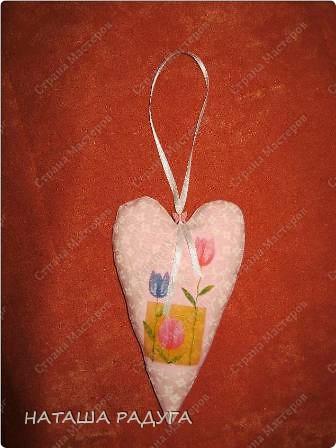 Скоро Валентинов день! Вот такой цветочек из сердечек- валентинок. фото 5