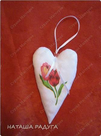 Скоро Валентинов день! Вот такой цветочек из сердечек- валентинок. фото 11