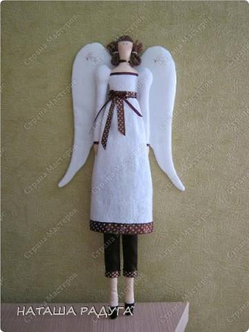 Тильда Винтажный ангел фото 1