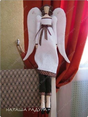 Тильда Винтажный ангел фото 2