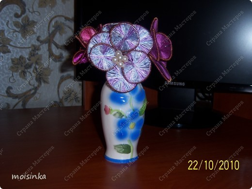 ганутель-цветочки фото 2
