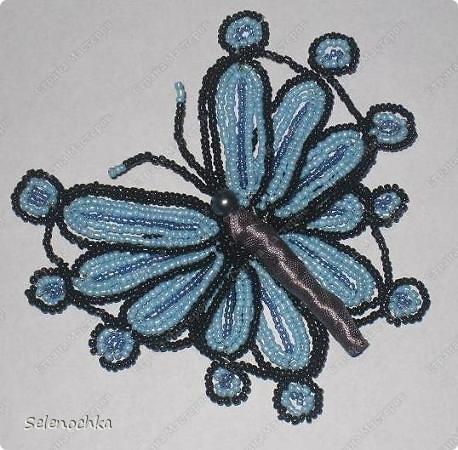 Бабочки из бисера фото 1
