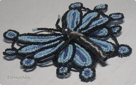 Бабочки из бисера фото 2