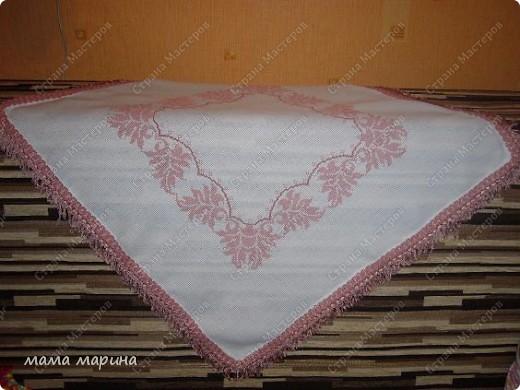 вышивка из журнала Валя-Валентина номер к сожалению не помню фото 2