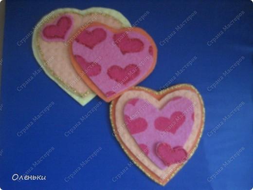 Валентинки из салфеток для уборки!!! фото 2