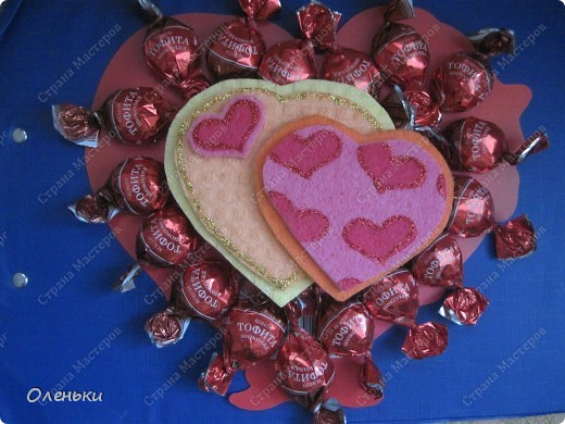 Валентинки из салфеток для уборки!!! фото 5