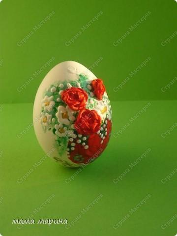 Продолжаю вышивать яйца , правда сломала перед этим 3 шт . оцените, что получилось на этот раз. фото 1