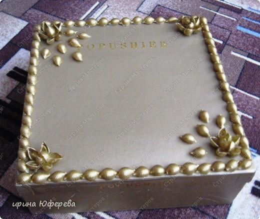 Наконец-то, воплотила свою мечту и привела в порядок коробки от обуви и вина, получился целый наборчик к Валентинову дню... фото 3