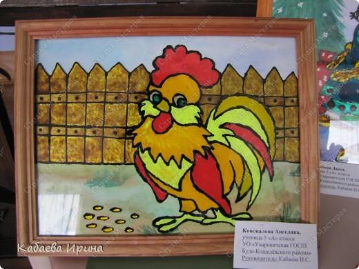 Наша маленькая выставка детских работ фото 6
