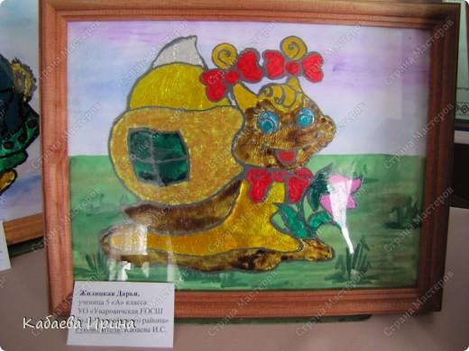 Наша маленькая выставка детских работ фото 7