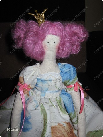"""Вот и новая кукла """"Принцесса"""". А имя не придумывается. фото 3"""