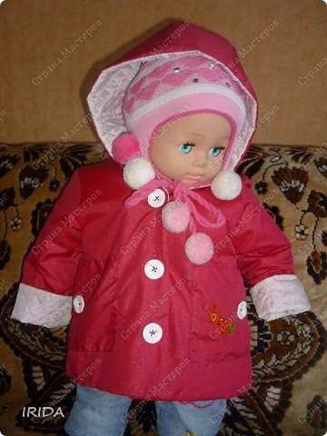 1. Плащ. Из этой ткани сначала планировала сшить костюмчик на весну-осень.В итоге получился вот такой плащ на подкладке. фото 7