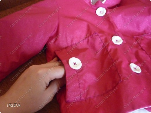 1. Плащ. Из этой ткани сначала планировала сшить костюмчик на весну-осень.В итоге получился вот такой плащ на подкладке. фото 6