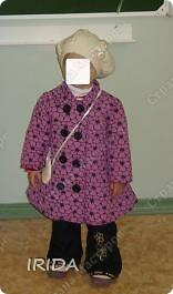 1. Плащ. Из этой ткани сначала планировала сшить костюмчик на весну-осень.В итоге получился вот такой плащ на подкладке. фото 4