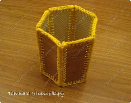 Карандашница...из ленолиума... фото 10
