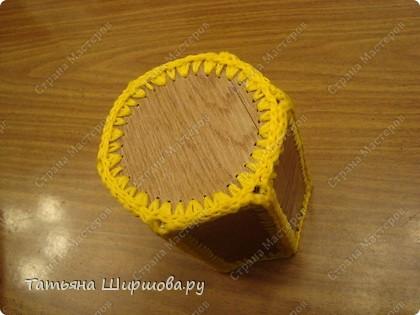 Карандашница...из ленолиума... фото 16