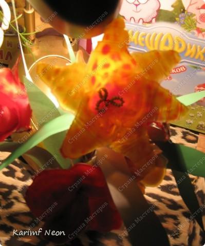 МОЁ ИЗОБРЕТЕНИЕ. Цветы из клея ПВА. 16 февраля 2011 года.  фото 14
