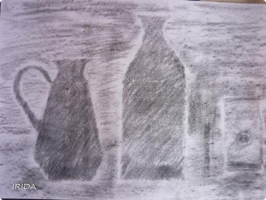 Это работы моего сына. Он учится  в ДШИ. Здесь представлены некоторые работы. Закат 7 лет фото 7
