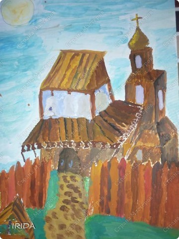 Это работы моего сына. Он учится  в ДШИ. Здесь представлены некоторые работы. Закат 7 лет фото 4
