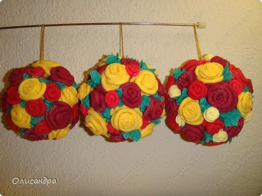 Мастер-класс Поделка изделие Гофротрубочки МК  Крутим розы из салфеток  Салфетки фото 40