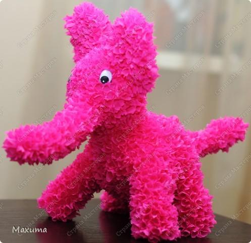 Розовый слонотопчик