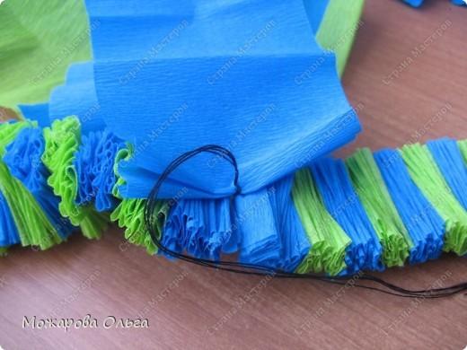 Клоун из гофрированных  спиралек. По такому принципу сделаны ножки и ручки у тигра. http://stranamasterov.ru/node/33597?tid=451%2C1492  фото 12