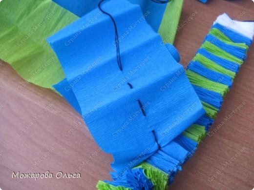 Клоун из гофрированных  спиралек. По такому принципу сделаны ножки и ручки у тигра. http://stranamasterov.ru/node/33597?tid=451%2C1492  фото 14
