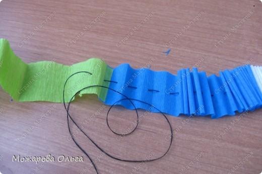 Клоун из гофрированных  спиралек. По такому принципу сделаны ножки и ручки у тигра. http://stranamasterov.ru/node/33597?tid=451%2C1492  фото 7