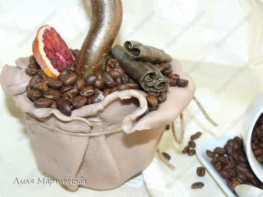 Топиарий кофейный фото 2