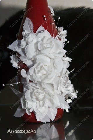 В прошлом году готовясь к своей свадьбе решилась на изготовление этого комплекта своими руками... и теперь не могу становиться :-) Все началось с сундучка, ну а потом решили все сделать в едином стиле :-) фото 4