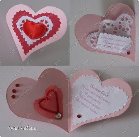 С небольшим опозданием выкладываю валентинки, которые делала для подружек дочери. фото 7