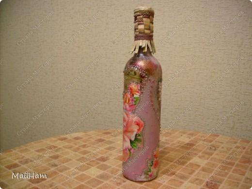 Решила продолжить тему бутылочек. Это мой 2-ой опыт. Подарочки на 23 февраля и на 8 марта. фото 4
