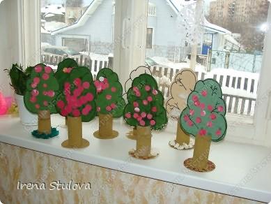 ОГРОМНОЕ СПАСИБО Зине Харузиной за идею!!! Хотя за окном зима, но так хочется тепла!!! Вот такой сад у нас получился. фото 1