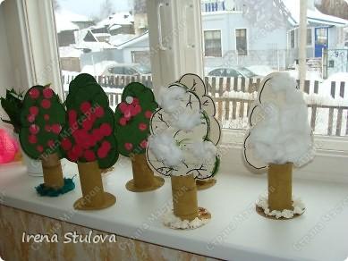 ОГРОМНОЕ СПАСИБО Зине Харузиной за идею!!! Хотя за окном зима, но так хочется тепла!!! Вот такой сад у нас получился. фото 2