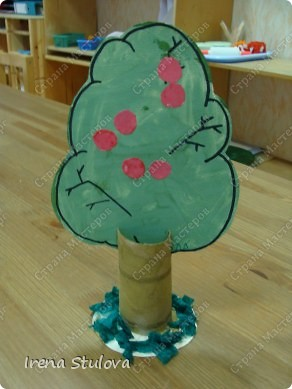ОГРОМНОЕ СПАСИБО Зине Харузиной за идею!!! Хотя за окном зима, но так хочется тепла!!! Вот такой сад у нас получился. фото 3