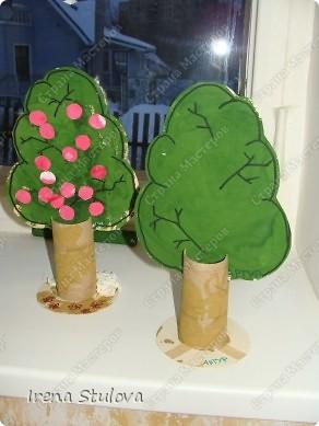 ОГРОМНОЕ СПАСИБО Зине Харузиной за идею!!! Хотя за окном зима, но так хочется тепла!!! Вот такой сад у нас получился. фото 4