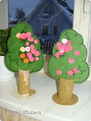 ОГРОМНОЕ СПАСИБО Зине Харузиной за идею!!! Хотя за окном зима, но так хочется тепла!!! Вот такой сад у нас получился. фото 5