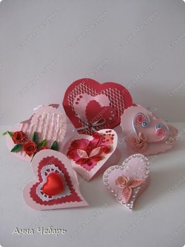 С небольшим опозданием выкладываю валентинки, которые делала для подружек дочери. фото 1