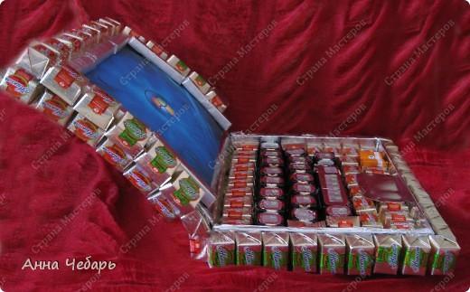 В подарок однокласснику дочери сделали вот такой нетбук. Спасибо за образцы Анне Глинко (http://stranamasterov.ru/node/129787?c=favorite) и маме марине (http://stranamasterov.ru/node/139954?c=favorite).  фото 4